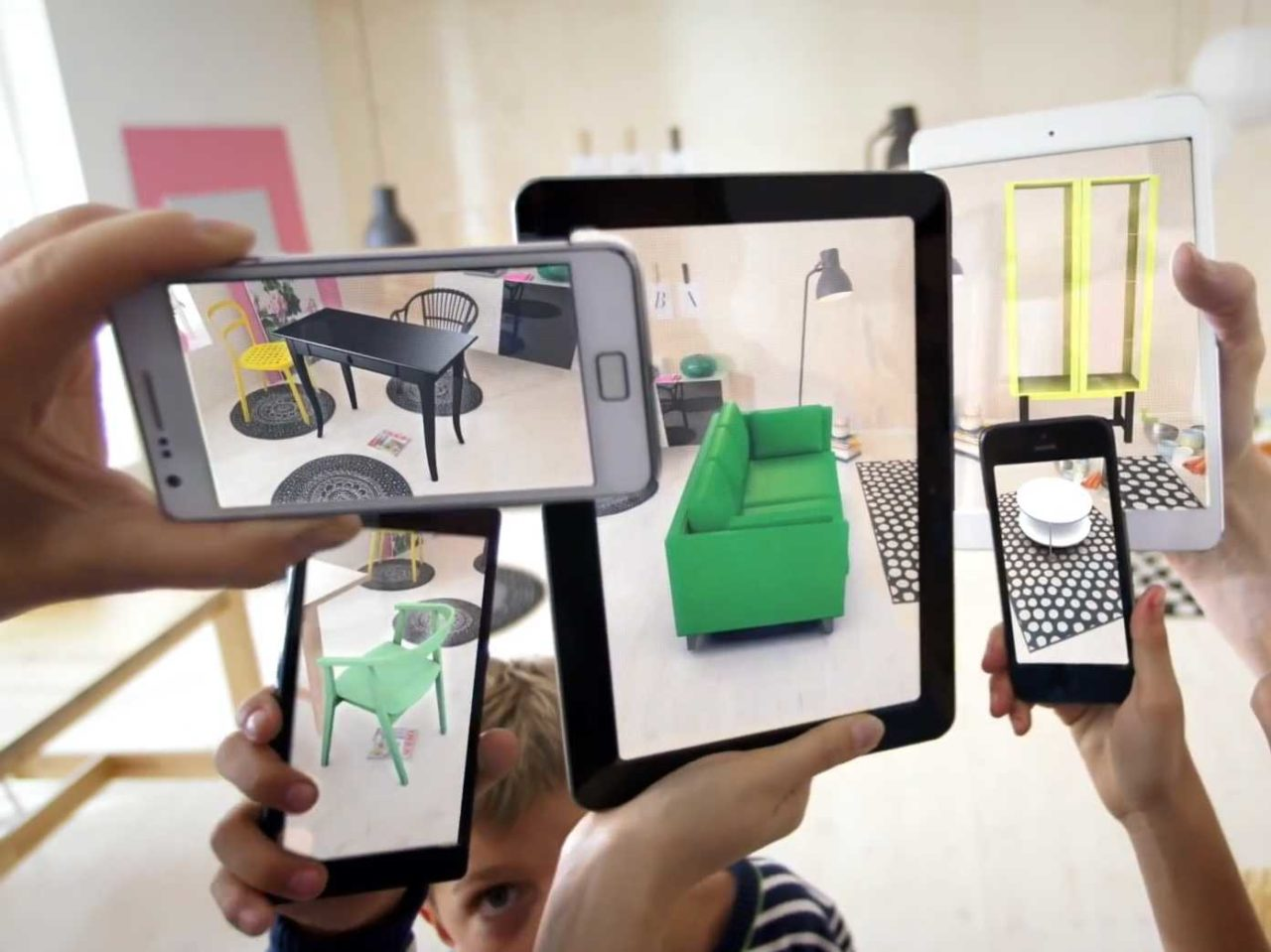 ikeas augmented reality catalog lets you virtually demo its furniture in your living room e1476130762985